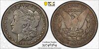 1885-CC Morgan Silver Dollar PCGS Genuine F Detail Rim Damage Coin #6364 Nice