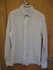 TOPMAN Business Shirt pin stripe size:M (38-41 inches) vgc