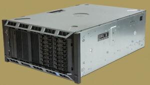 Dell PowerEdge T620 Six-Core E5-2620 2Ghz 192GB RAM 6x900GB 2x146GB Rack Server