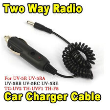 Dc12v car charger cable for dual band two way talkie for baofeng uv-5r bf-888s