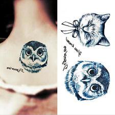 Stylish Unisex Temporary Tattoo Sticker Tattoo Gun Letters Fake Body Art Tatoo