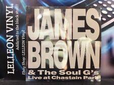 James Brown & The Soul G's Live At Chastain Park LP Album JAM1984 Funk 80's