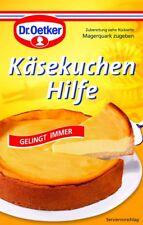 DR. OETKER - CHEESE CAKE HELP - 1 bag - German Product