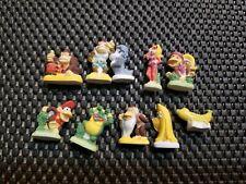 "Nintendo Vintage Donkey Kong ""Feve"" Porcelain Mini Figures LOT10 Rare complete"
