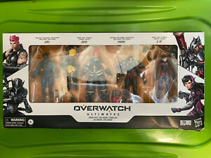 Hasbro Overwatch Ultimates Carbon Series Action Figure 4-Pack Set Toy New