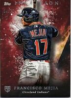 2018 Topps Inception Red #68 Francisco Mejia RC Rookie 54/75 Indians