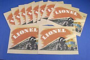 Lionel 1969 Catalog 8 New Old Stock Catalogs  C-9