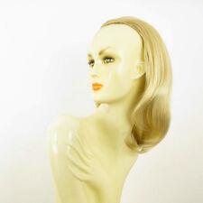 DT Half wig HairPiece golden blond poly mesh very light blond 15.7 :21/24bt613