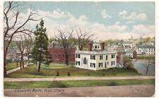 Public Library, Ellsworth ME Hancock County 1907 Postcard 122417