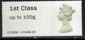 GB 2013 - 15 QE2 1st to 100gms Post & Go Unused No Gum  ( D1417 )