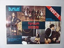 LE FANTOME DE LA LIBERTE/ BUNUEL (1974/FRANCE) ORIGINAL YUGOSLAVIAN MOVIE POSTER