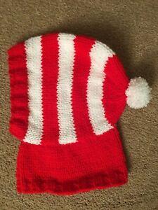 Hand Knitted Greyhound Hat