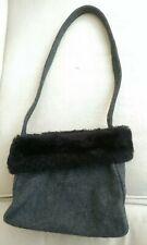 REDUCED! Bulaggi Grey felt small Shoulder Bag