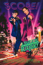 NIGHT AT THE ROXBURY Movie POSTER 27x40 Will Ferrell Chris Kattan Molly Shannon