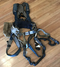 DBI SALA- ExoFit XP Iron Worker's Harness - Medium with Pouch & Shock Lanyard