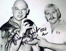 Bobby Heenan/Baron von Raschke Signed Autographed 8x10 Photo - w/COA - WWE RARE!