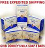 GRISI DONKEYS MILK SOAP 3.5oz Bar Hand Face Cleanser LECHE DE BURRA Jabon 8 Pack