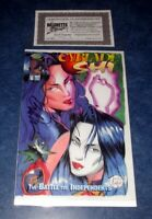 CYBLDE SHI #1 signed BILLY TUCCI variant 1st print iMAGE 1995 1st app WITCHBLADE