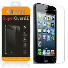 2X SuperGuardZ® 9H Tempered Glass Screen Protector Shield For iPhone 5S 5C 5 SE