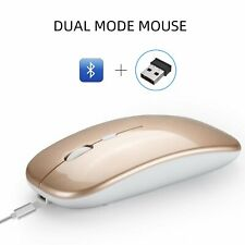 Mini Wireless Bluetooth Mouse 1600DPI Mice for Android Phone Tablet PC Laptop AU