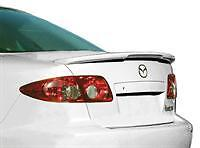 Mazda 6 Sedan Rear Spoiler Primed 2003-2008 Factory Style with LED JSP 339128