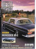 RETROVISEUR 110 MERCEDES SE C W111 1961 71 JAGUAR TYPE E CARROSSERIE WORBLAUFEN