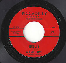 ♫MAGIC FERN Nellie/Cloudy Day Piccadilly 240 GARAGE ROCK 45RPM♫