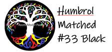 Humbrol Acrylic Matt paint No.33 Black Matched Colour Roots Model Acrylic Paint