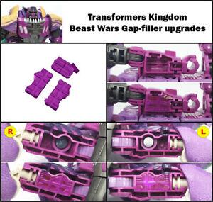 Kingdom Transformers Beast Wars Megatron upgrade kit (gap fillers)