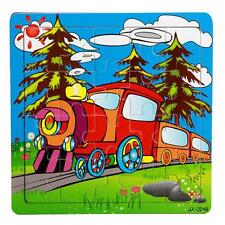 Wooden Puzzle Educational Developmental Baby Kids Training Toy Gift NEW