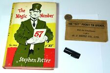 More details for rare vintage advertising items heinz 57 book folding can opener company letter