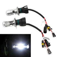 2Pcs 35W Bi-Xenon Hi/Lo Beam HID White Bulb Car Headlight Light Lamp H4 6000K