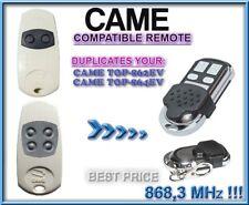 Came TOP-862EV / TOP-864EV compatible remote control, 868,3MHz CLONE, Duplicator