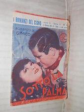 SOTTO LA PALMA G Mico Editrice Nicolli I Romanzi del Cigno 81 1937 Paramaunt