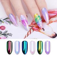 Born Pretty Aurora Neon Nail Glitter Powder Chameleon  Mirror Pigment DIY