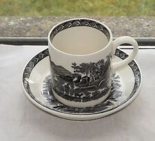Earthenware 1960-1979 Wedgwood Pottery Cups & Saucers