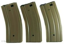 Lot of 3 Airsoft M4 M16 Magazine Clips Automatic Electric 300 Rounds Each
