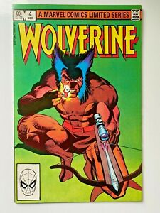 Marvel Comics Wolverine #4 (1982) Comic Book