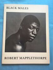 ROBERT MAPPLETHORPE: BLACK MALES - FIRST EDITION EXHIBITION CATALOGUE