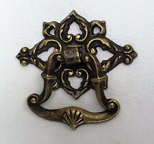 Brass Bell Architectural Antique Hardware Drawer Pull Handle Victorian
