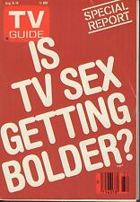 TV Guide Magazine August 8-14 1987 Is TV sex Getting Bolder? 072017nonjhe