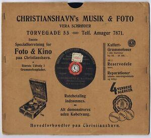 """78 rpm M.A. MICHAILOWA Weber Freischütz Trübe Augen..Danish Shellac 10"""""""