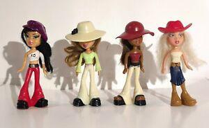 McDONALDS 2003 BRATZ LOT of 4 Happy Meal Dolls Figures Toys