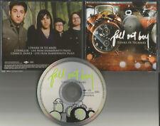 FALL OUT BOY Thnks fr th mmrs w/ 2 LIVE TRX Europe CD single USA seller memories