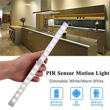 Battery Power Motion Sensor LED Light Bar Tube Lamp Kitchen Under Cabinet Lamp