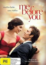 Me Before You (Dvd) Drama, Romance Emilia Clarke, Sam Claflin, Stephen Peacock