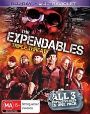 The Expendables / Expendables 2 (Blu-ray, 2014, 3-Disc Set)