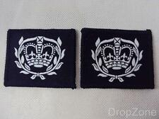 PAIO DI Militare Inglese RAF CADETTO WARRANT OFFICER RANGO PANNO DISTINTIVO
