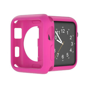 For Apple Watch Series 5 4 3 2 Bumper Silicon Protector Case Cover 38/40/42/44mm