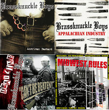 Haunted Town 4 CD setl! BRASSKNUCKLE BOYS discog DEADLINE MIDWEST RULES Oi punk